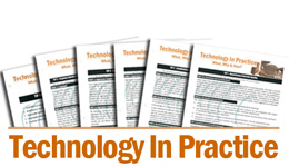 Technology In Practice (TIP) Single Set (1-22)<BR>Non-Member Price: $50.00<BR>Member Price: $25.00