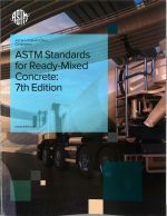 ASTM Standards for RM Concrete, 7th Ed. (10 cps. or more)